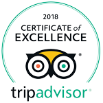 Certificate of Excellence - Trip Adviser